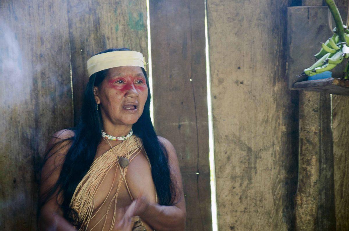 Bebentoque of the Huaorani in Pastaza, Ecuador | ©Angela Drake