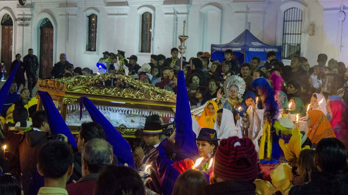 Holy Thursday in Quito