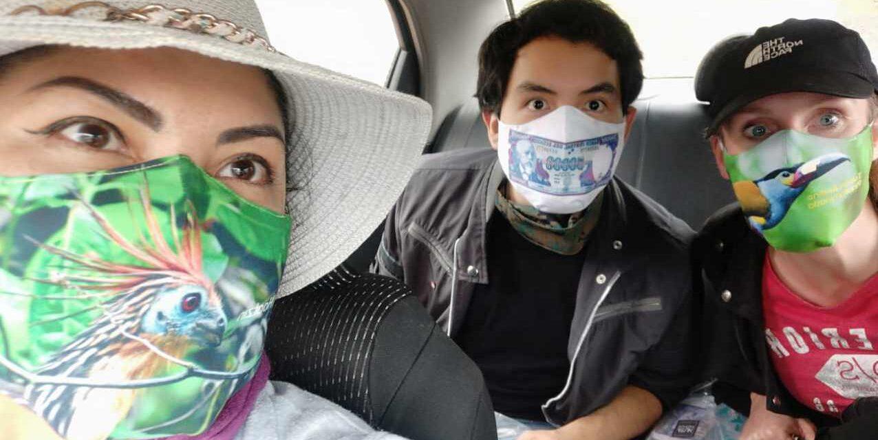 Promueve al Ecuador mientras Usas Mascarillas