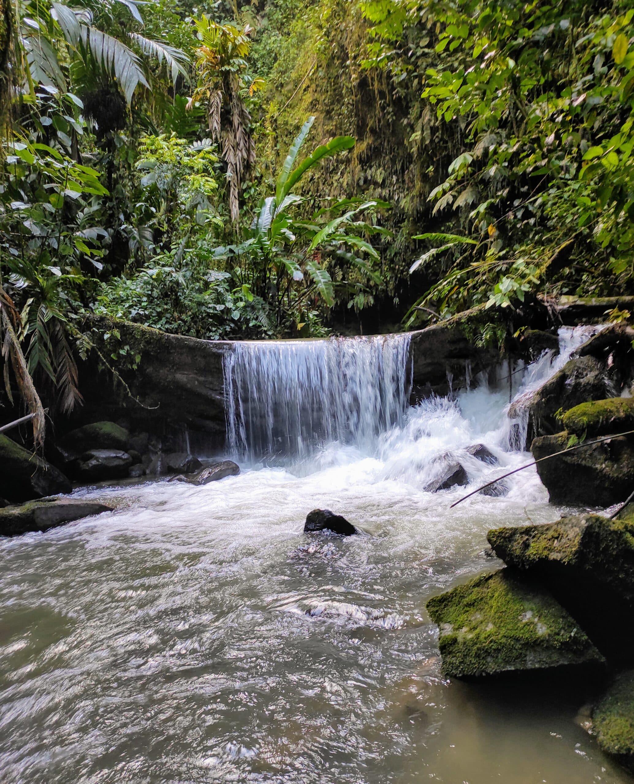 Waterfall, San Francisco de Borja, Napo Province ©Jacqueline Granda