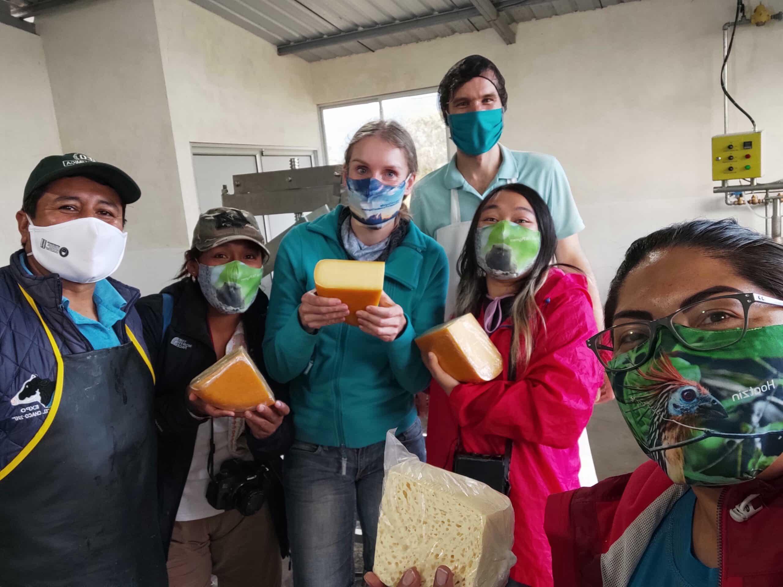 Cheese Production, San Francisco de Borja, Napo Province ©Jacqueline Granda