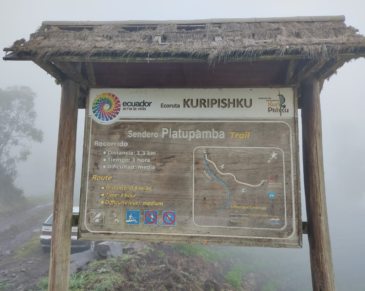 EcoRuta Kiripishku in Llangantes National Park, Ecuador | ©Carlos Diaz