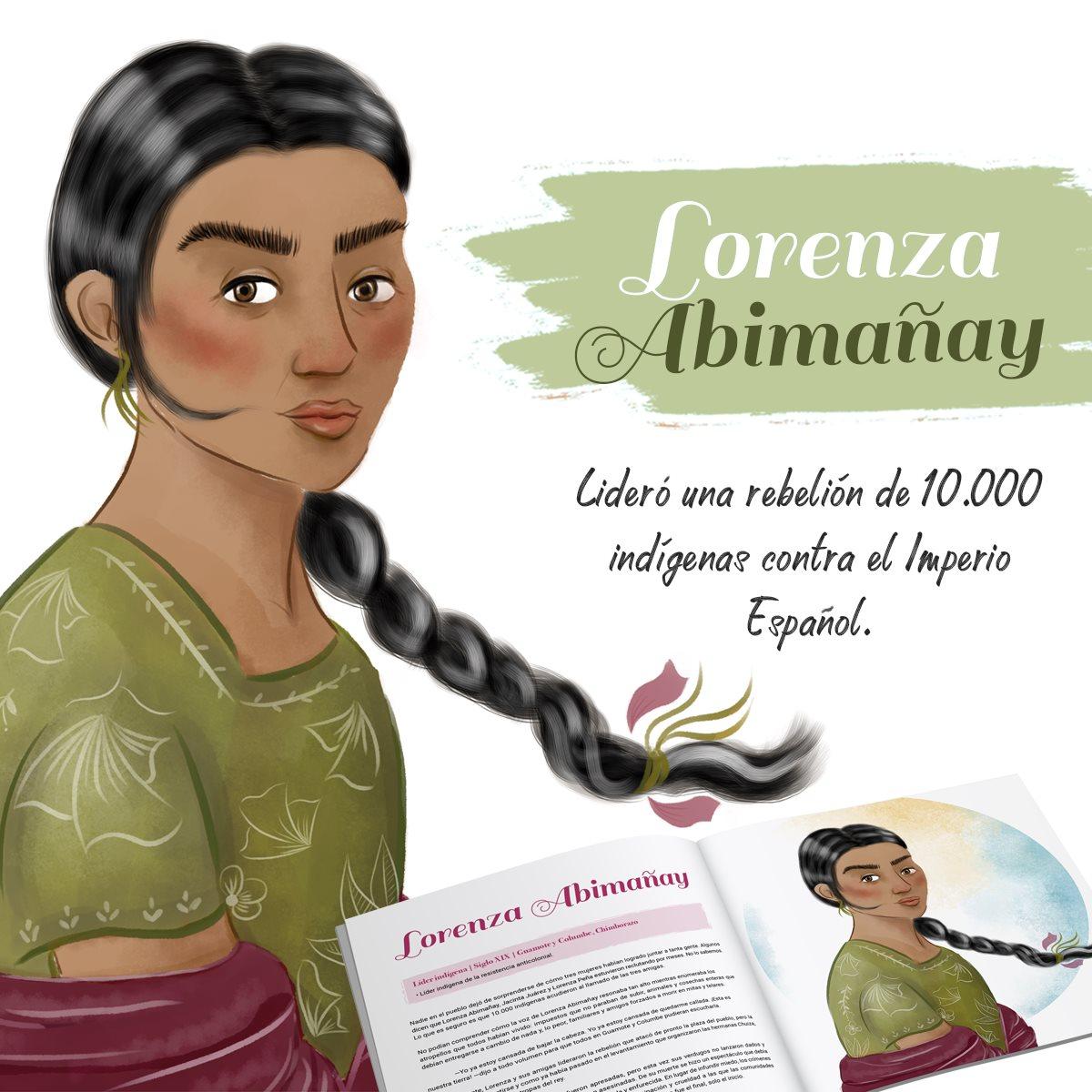 Lorenza Abimañay| ©KynkuMarketingSocial