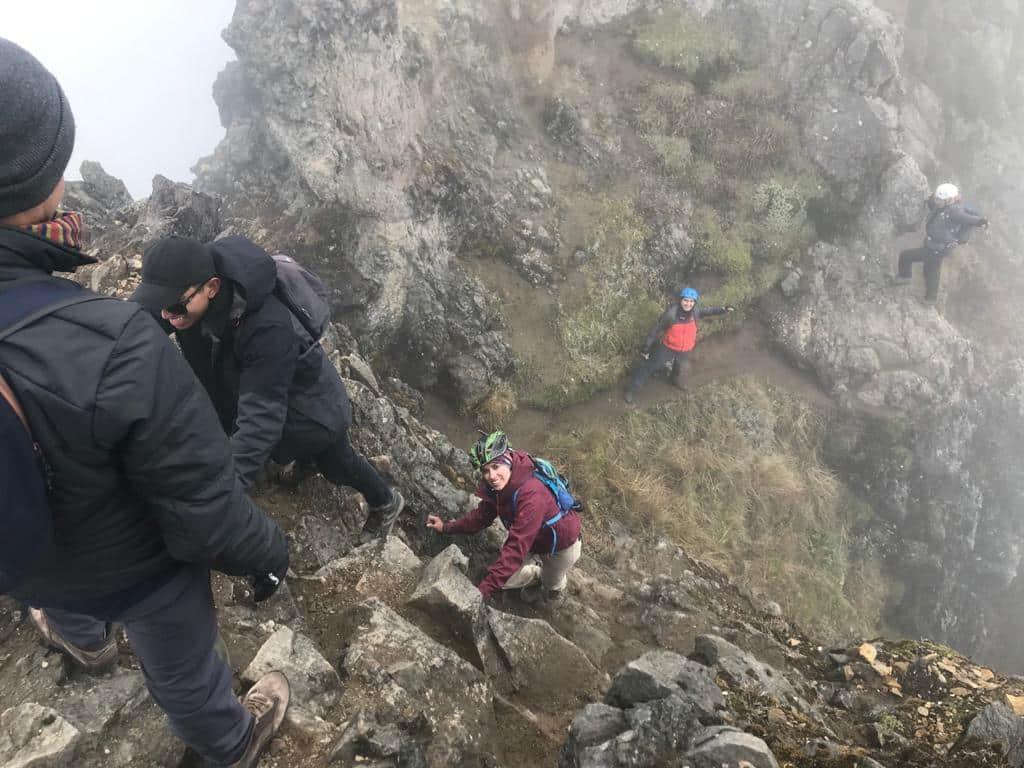 Subiendo a la segunda cumbre, Imbabura, Ecuador   ©Edison Benitez
