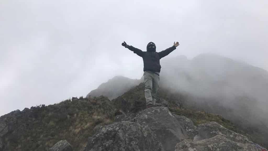 Llegando al primer cumbre, Imbabura, Ecuador   ©Edison Benitez